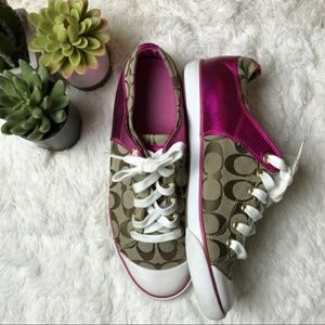 coach authentic BOBBEY SNEAKERS size 7